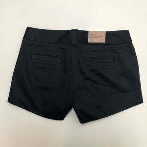 J Crew Factory City Fit Black Shorts Size 2